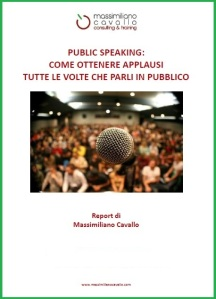 Ebook public speaking - Massimiliano Cavallo